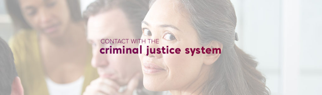 personal experiences criminal justice system
