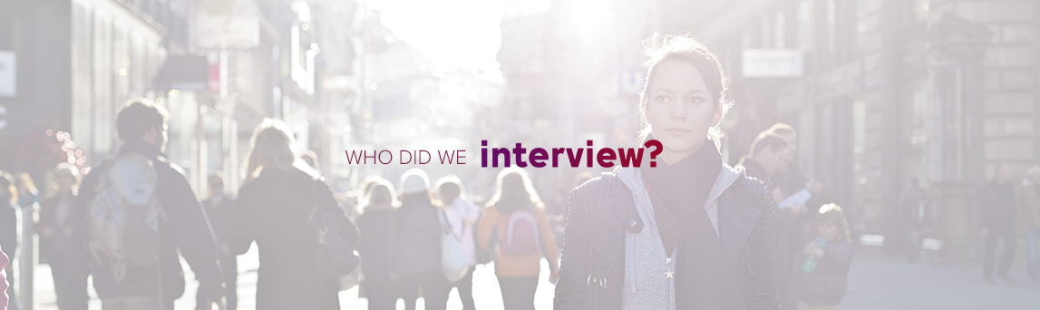 Who Did We Interview, people interviewed